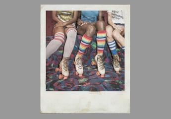 Effets de photo instantanée vintage