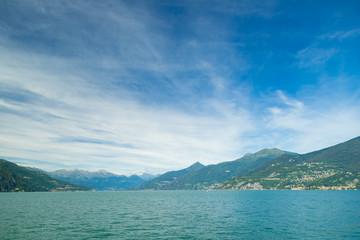 Landscape of Como lake. Italy.