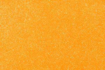 orange glitter texture abstract background