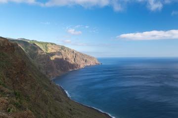 Lighthouse in Ponta do Pargo, Madeira, Portugal, Europe