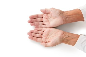 Cropped image of person hands