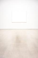 Modern Art Museum Frame WallIsolated White