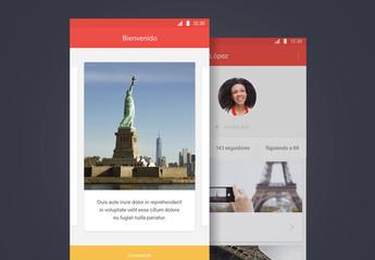 Kit de interfaz de usuario para viaje