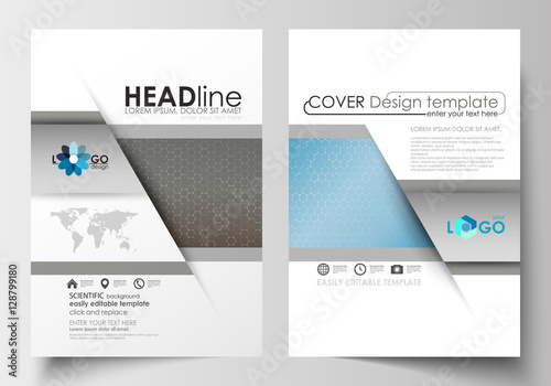 Templates for brochure, magazine, flyer, booklet. Cover template ...