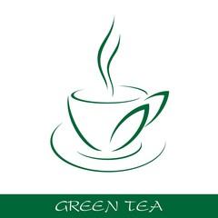 Cup tea symbol