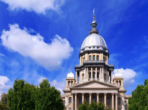 Illinois State Capital building in Springfield Illinois