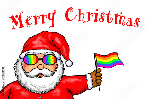 santa christmas Gay claus cartoon