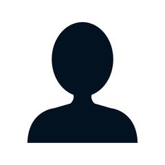 head human profile icon vector illustration design