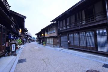 奈良井宿の町並み