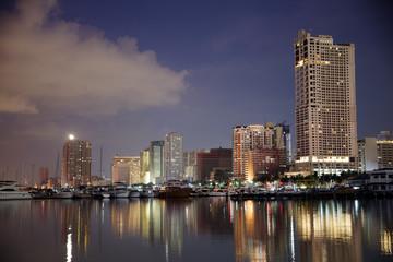 Manila Bay at Harbor Square , Manila , Philippines