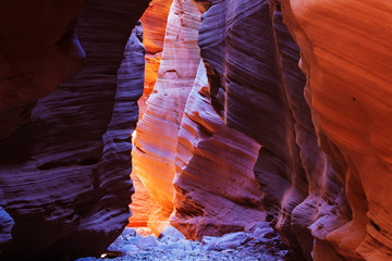 Staande foto Canyon Slot canyon