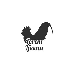 Poultry, Rooster, Chicken Restaurant Logo Template