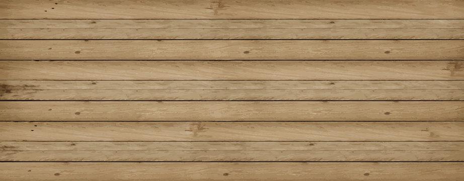 Wooden Vector Background Texture