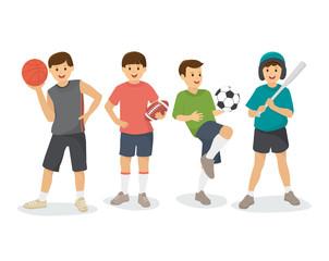 Boys, Kids sports