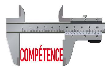 Compétence - mesure - test - embauche - entreprise