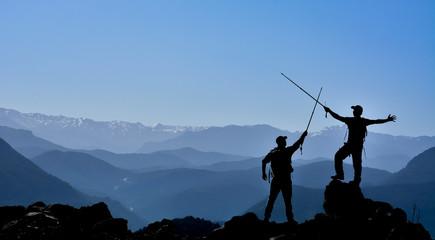 zirve mutluluğu ve dağcılık mücadelesi