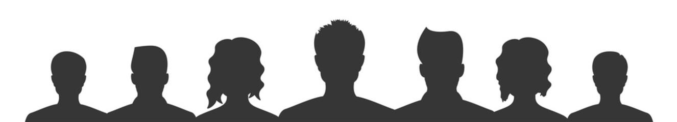 Personen Silhouette