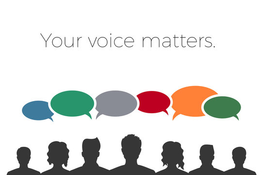 your voice matters - banner