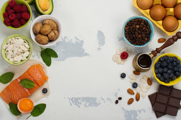 Healthy food for brain and good memory
