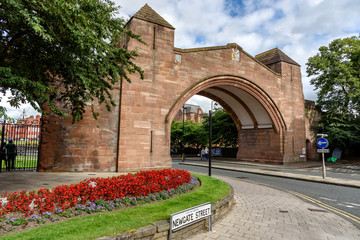 Chester City Wall England