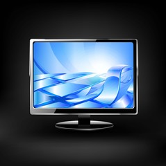 Plasma LCD TV.