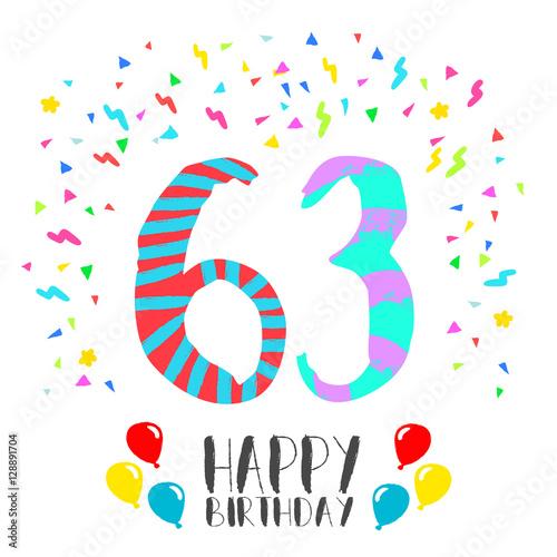 Поздравления женщине с днем рождения 63 лет