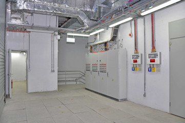 transformer room and ventilation