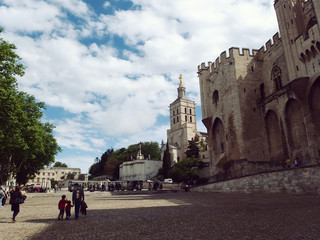Avignon Pope's Fortress Palace