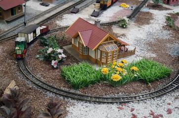 Modelleisenbahn Haus