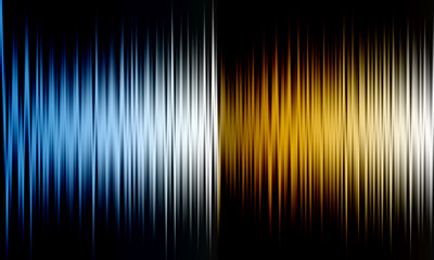 Abstract horizontal lines of colors