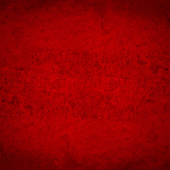 red cement texture background. Vintage wall.