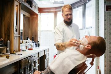 Hair mustache beard treatment