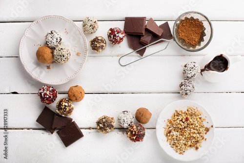 how to make homemade chocolate candy from cocoa powder