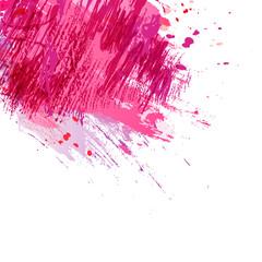 Brush-pink-background