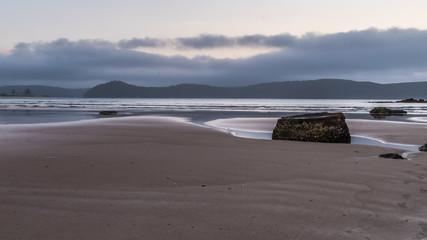 Daybreak at the beach