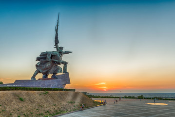 """Soldier and Sailor"" Memorial to Heroic Defenders of Sevastopol,"