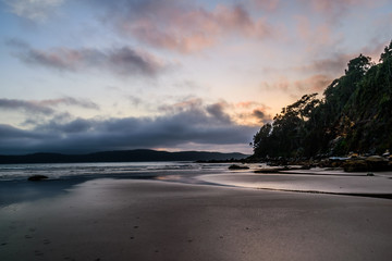 Watching the sunrise from Umina Point