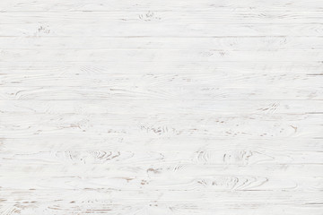 white rustic wood texture background Wall mural