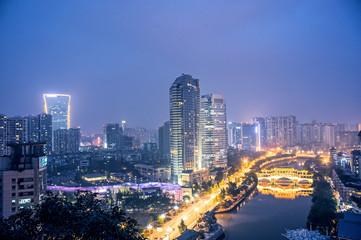 The Chinese city of chengdu