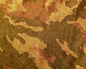 Camouflage textile cloth texture