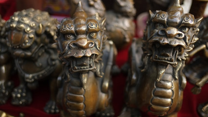 Chinese folk bronze crafts