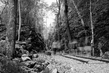 Hellfire Pass in valley mountain history of world war II