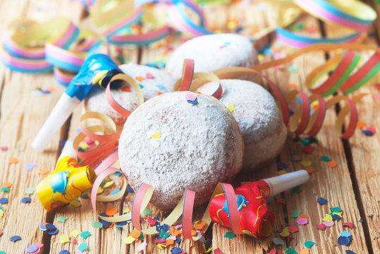 Pfannkuchen zum Karneval