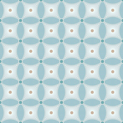 Seamless diamond shaped geometric vector pattern.