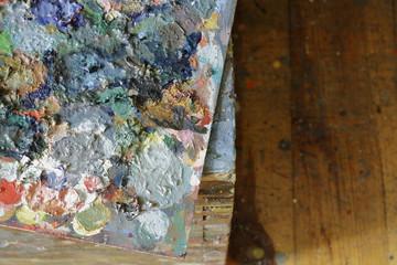 paleta malarza