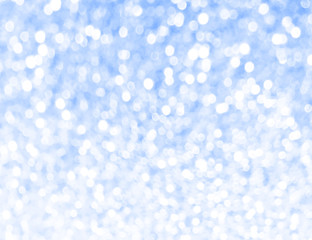 blue sea glitter bokeh texture abstract background