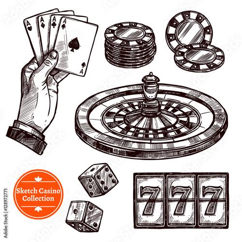 casino sketch