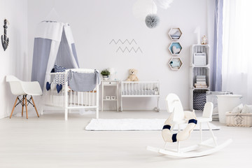 Bright and cozy room for child