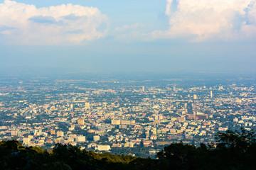 Chiang mai city view at Chiang mai, Thailand