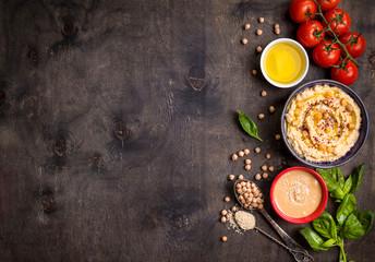 Hummus background